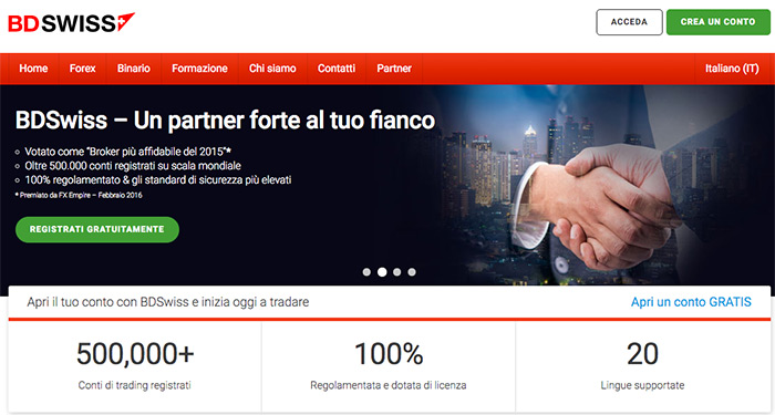 Truffa trading online