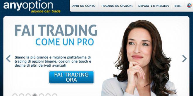 Trading con opzioni binarie con bonus