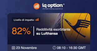 Azioni Deutsche Lufthansa: Volatilità Per lo Sciopero di Novembre?