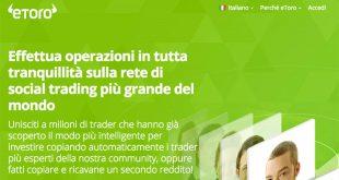 eToroBroker Forex Italia