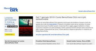 Interessi Bancoposta Click e Conto Click Poste Italiane?