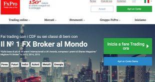 Recensione FxPro: Broker Forex e CFD Opinioni
