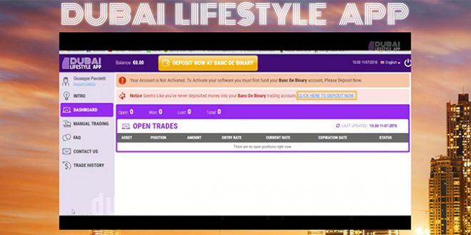 Dubai Lifestyle App - Trading Automatico, Truffa o No: Funziona?