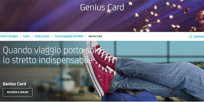SALDO E MOVIMENTI GENIUS CARD