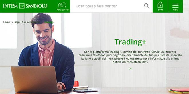 5284a311db Trading online Intesa San Paolo (Trading+)