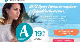 Tiscali Offerte Adsl Fibra e Internet 2017